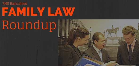 Family Law Roundup