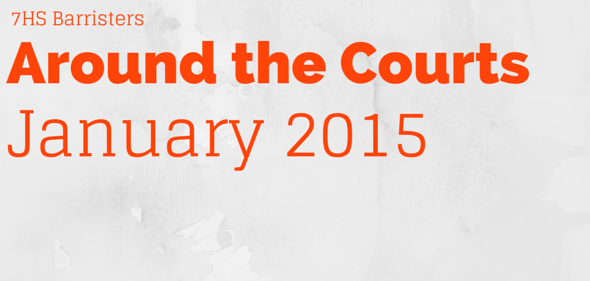 Around the Courts – January 2015