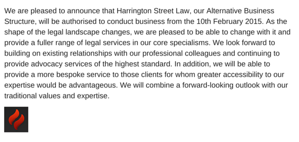 Harrington Street Law