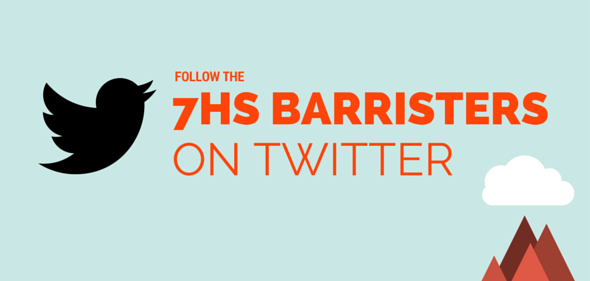 Follow our barristers on Twitter