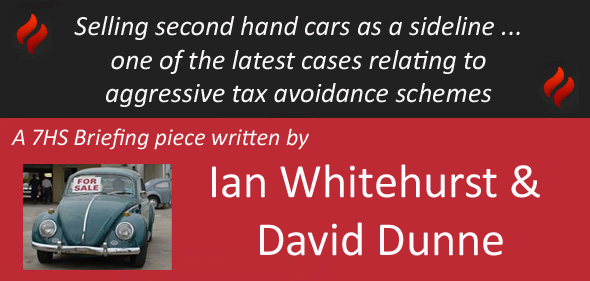 Tax Avoidance Schemes: The End of the Road?