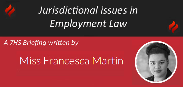 Jurisdictional issues in Employment Law