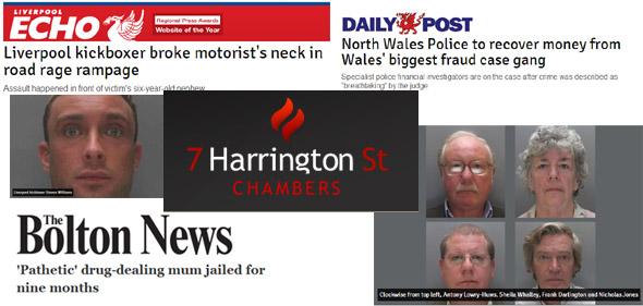 Kickboxer broke motorists neck, Mother of 2 jailed for drug dealing, Waless biggest ever fraud