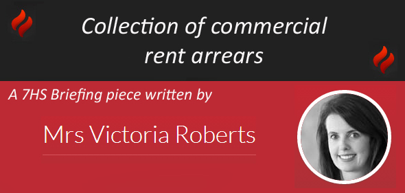 Collection of commercial rent arrears