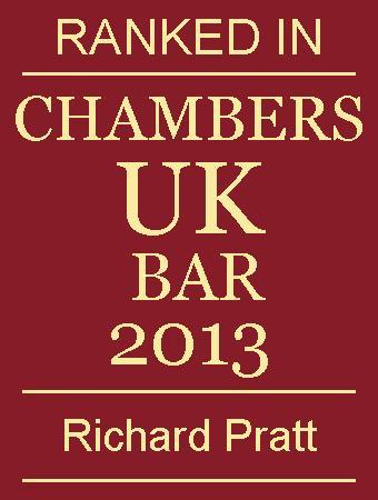 Chambers UK Bar 2013